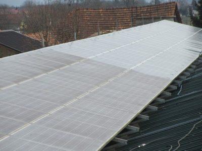 čiščenje solar