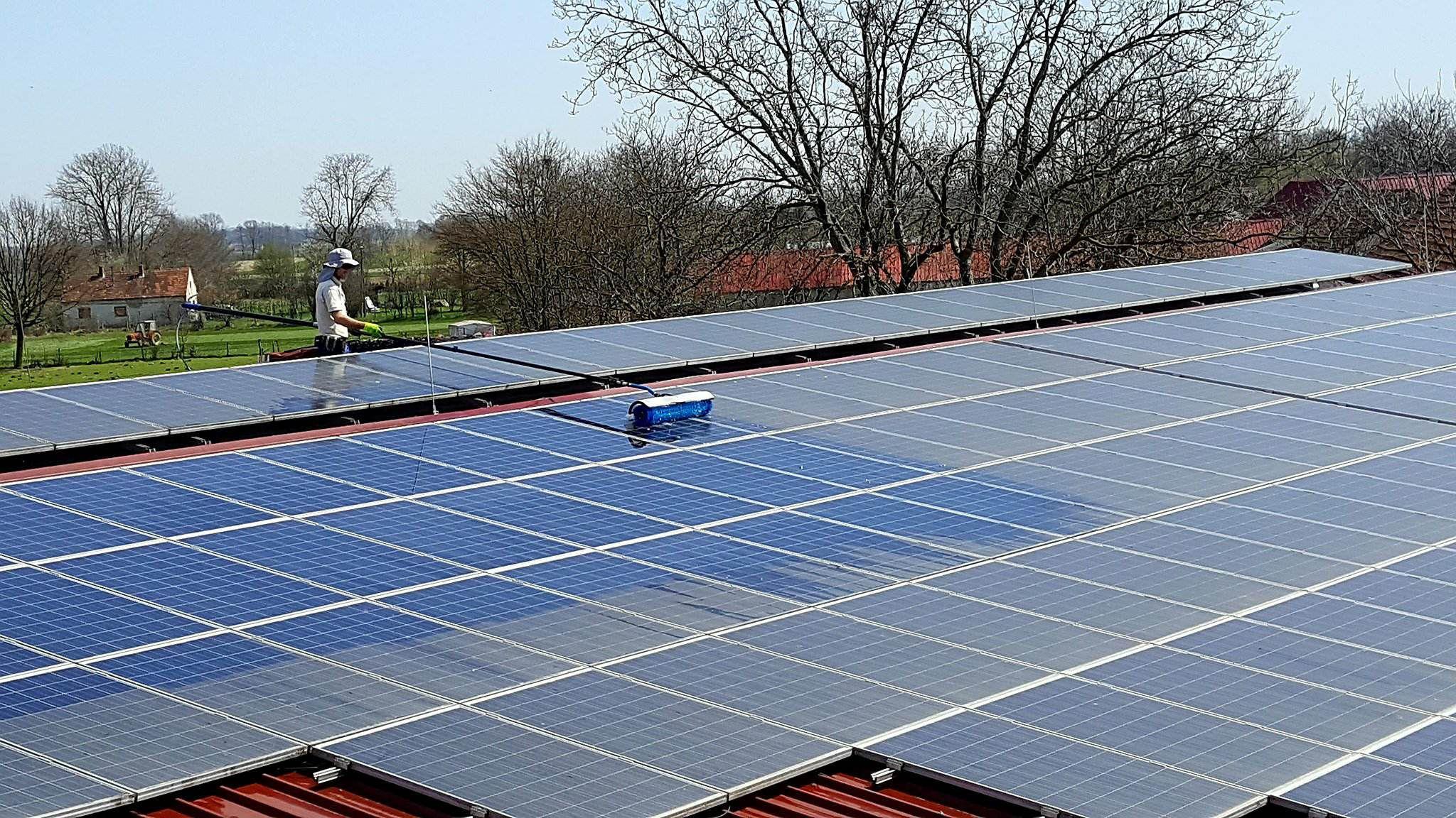 solar-čiščenje