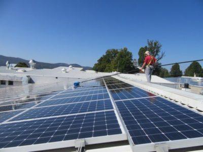 čiščenje sončnih elektrarn 1