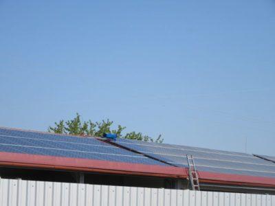 čistilni servis sončna elektrarna
