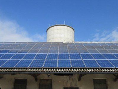 sončna elektrarna čiščenje nddk