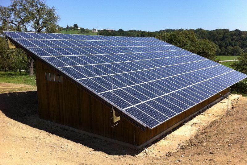 Integrirana sončna elektrarna Spevan Ana 1