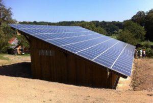 Integrirana sončna elektrarna Spevan Ana 3