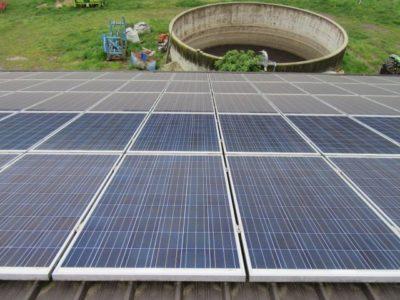 čistilni servis sončne elektrarne